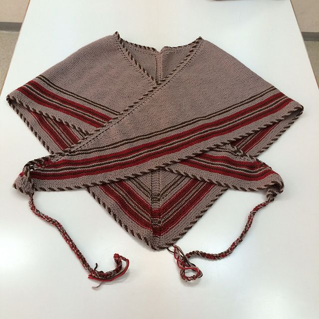 Ravelry: ouka1029's Traditional Danish Tie Shawl. knit inspiration