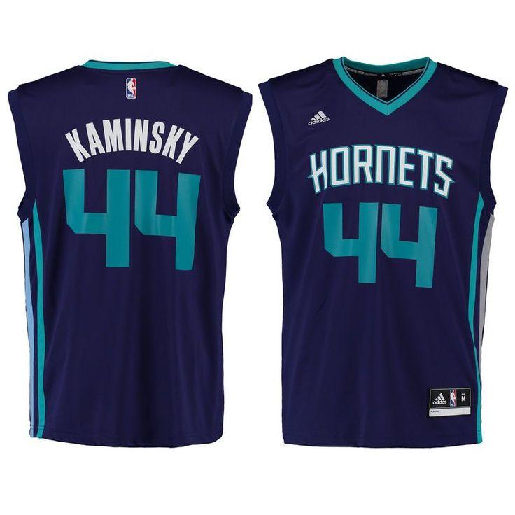 Frank Kaminsky Charlotte Hornets adidas Replica Jersey - Purple
