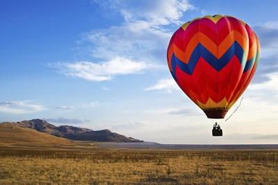 Lot balonem - dryfuj w przestworzach!