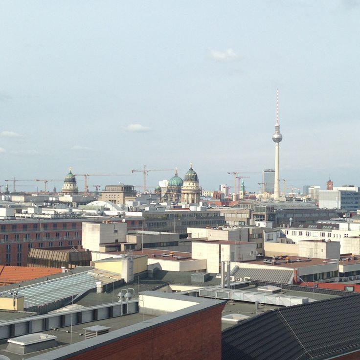 Blick über Berlin aus dem GLOSSYBOX Headquarter