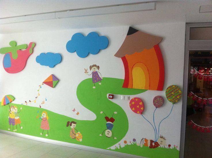 School hallway decorations | funnycrafts