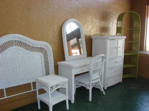 Exquisite Ideas White Wicker Bedroom Furniture Neoteric Wicker ...
