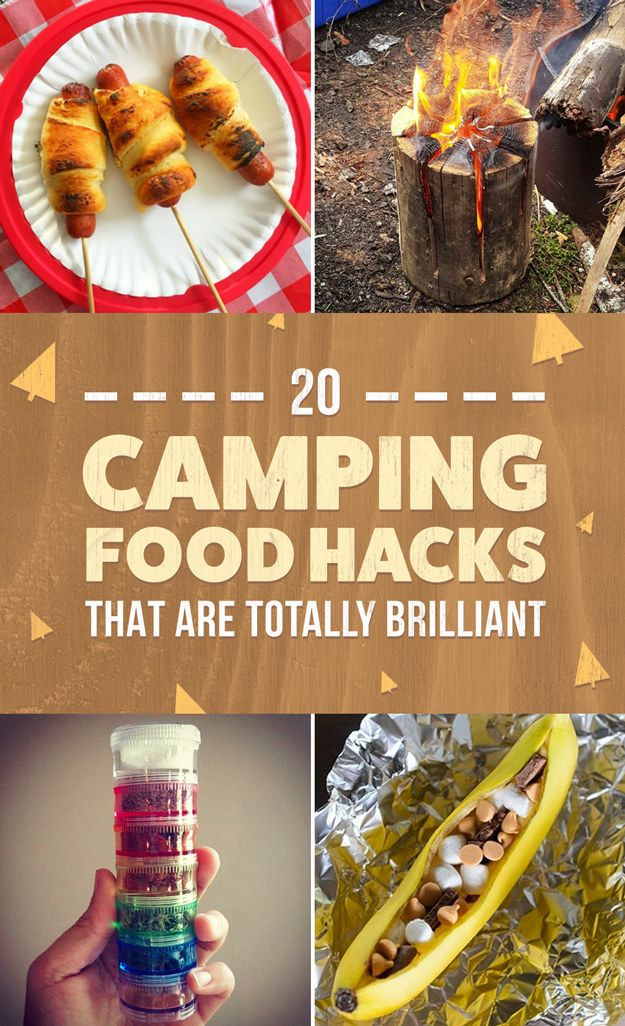 20 Camping Food Hacks That Are Totally Brilliant -   .