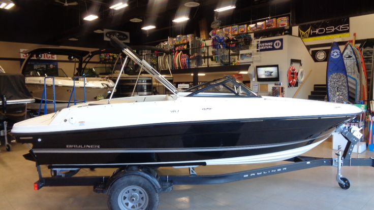 2018 Bayliner VR4. The latest in the VR Series of highly evolved bowriders, the VR4 is easy to tow, launch and store—and really fun to use.