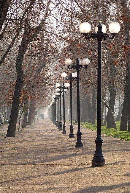 Parque Forestal Santiago de Chile