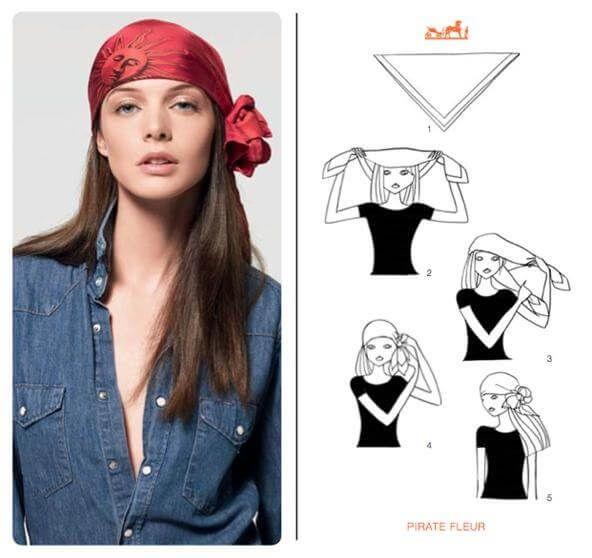 modi furbi di usare il foulard pirata 1