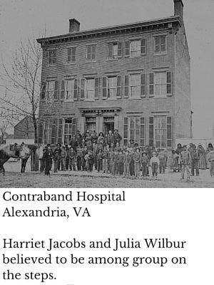 Julia Wilbur and Harriet Jacobs helped African Americans during the Civil War #womenshistory