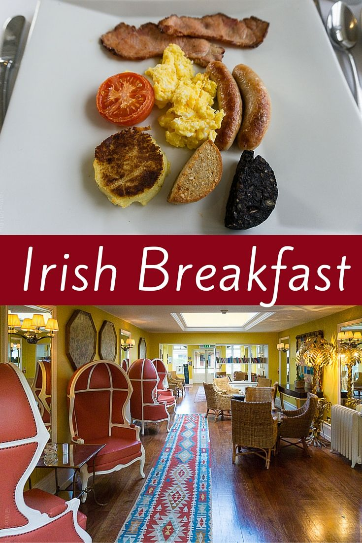 Irish breakfast is famous for how hearty and delicious it is. Learn which luxury hotel in County Mayo, Ireland serves a great meal in this beautiful setting if you're planning to travel around Cong and want to sample the black and white pudding and more!
