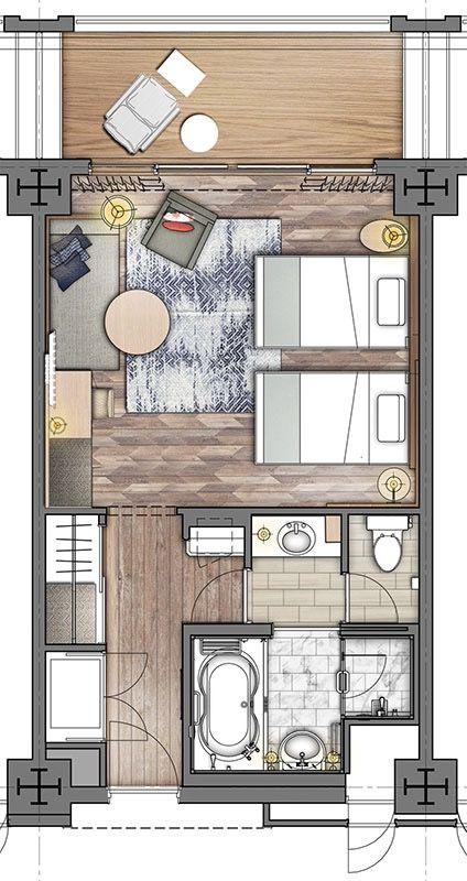 Hotel Room Plan: ANA InterContinental ISHIGAKI RESORT Deluxe 40sqm