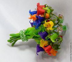 Создаем колокольчики «Радужное настроение» из холодного фарфора - Ярмарка Мастеров - ручная работа, handmade