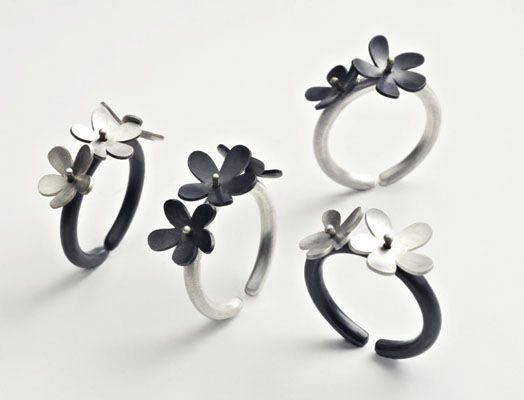 flower rings FIRILDAK ÇİÇEK YÜZÜKLER | BURCU BÜYÜKÜNAL