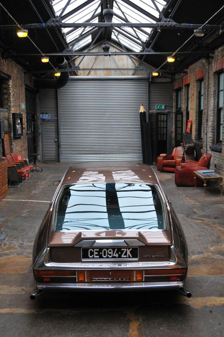 Citroen SM 1973 www.ds21.co.uk