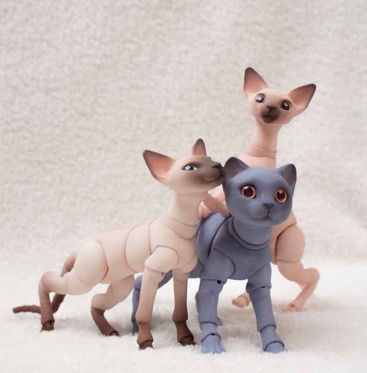 Cats | BJD Pets by Eve Studio