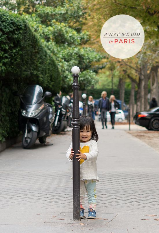 what to do in paris, france via oh joy!