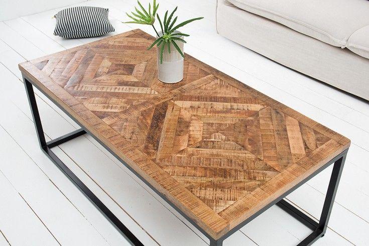 Design Couchtisch 120cm Teak