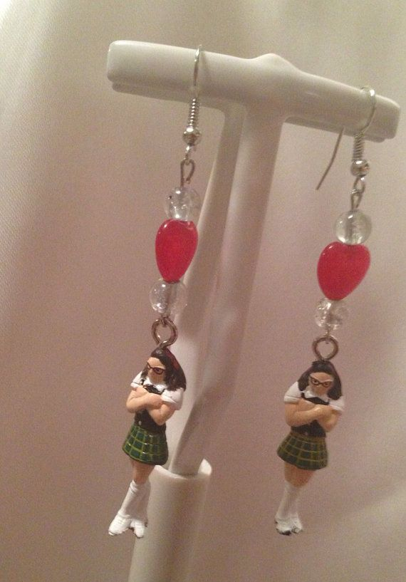 I made Superstar earrings! SNL Molly Shannon  on Etsy, $15.00....I WILL WEAR THESE ON MY WEDDING IF SOMEONE GETS THEM FOR ME! (or maybe not...)