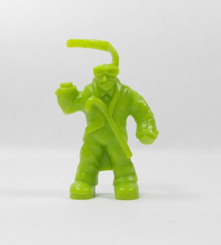 Monster In My Pocket - Series 1 - 46 Invisible Man - Olive Green - Mini Figure