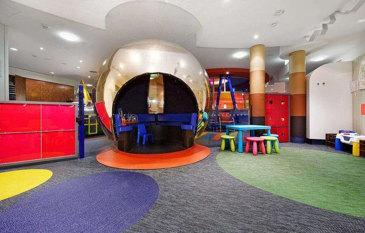 Bolon flooring in the Cabrini Children's Centre