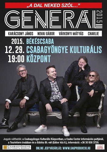Plakat104.hu: Generál koncert Békéscsabán
