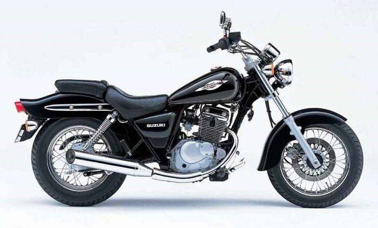 Suzuki GZ125 Marauder motorcycle review - Side view