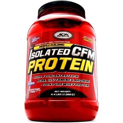 * ISOLATED CFM PROTEIN *** Aislado de Proteina de Suero (Whey Protein Isolate) ultramicrofiltrada a flujo cruzado (CFM) Isolated CFM Protein es la ultima tecnología en el desarrollo de la batidos de Proteína para profesionales, atletas y deportistas que desean incrementar su fuerza y masa muscular de la forma más rápida. * Fuente de Proteína de excelente absorción y de la mejor calidad disponib.