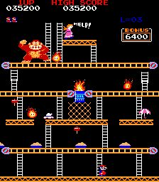 Donkey Kong - still an awesome game.