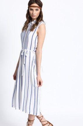 Zobacz produkt Medicine - Sukienka Artisan kolor biały  RS16-SUD702w oficjalnym sklepie odzieżowym online marki MEDICINE. Dostawa w 24h - dzisiaj zamawiasz, jutro przymierzasz. Zapraszamy do zakupów.