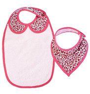 set-luipaard-roze