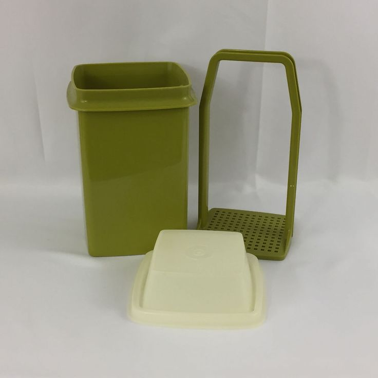 Vtg 3pc Tupperware Pick a Deli Pickle Olive & Clear Keeper Container Storage Lot #Tupperware