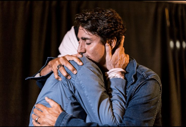 tragically hip gord downie with Prime Minister