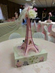 58dd50ebbb28b0381478eb47aaa4ab15 (225×300). Paris Theme CenterpiecesBaby  Shower ...