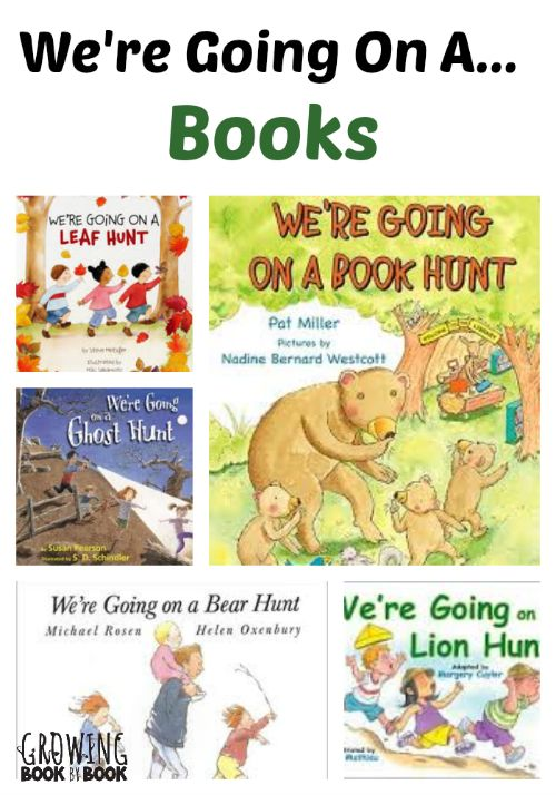 Storytime Ideas: We're Going on a Lion Hunt from @Jodie White Rodriguez @ Growing Book by Book