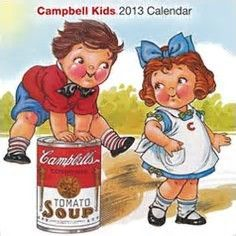 Image result for images campbell soup kids