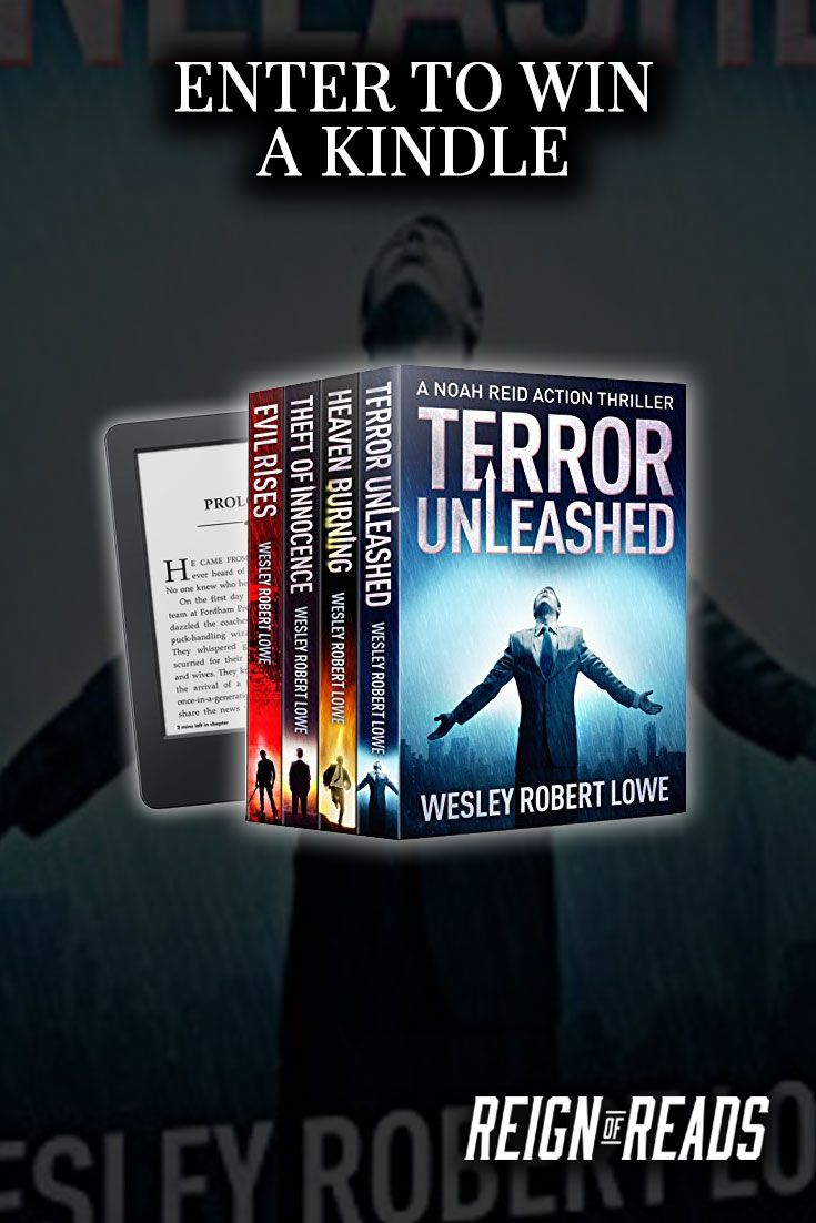 Mar 13 Win a Kindle E-Reader from Bestselling Author Wesley Robert Lowe