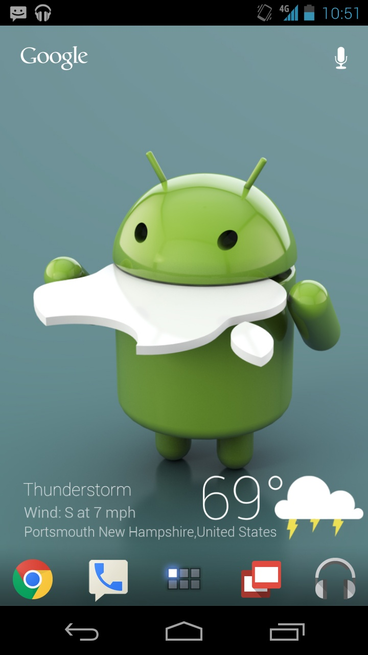 """I just discover this Amazing android Homescreen """"Back to Basics"""" on MyColorscreen.com"""