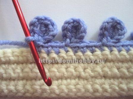 CROCHÊ ...Arte com fios: BARRADOS E BIQUINHOS DE CROCHE-crochet borders