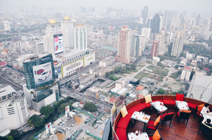 Bangkok from the top