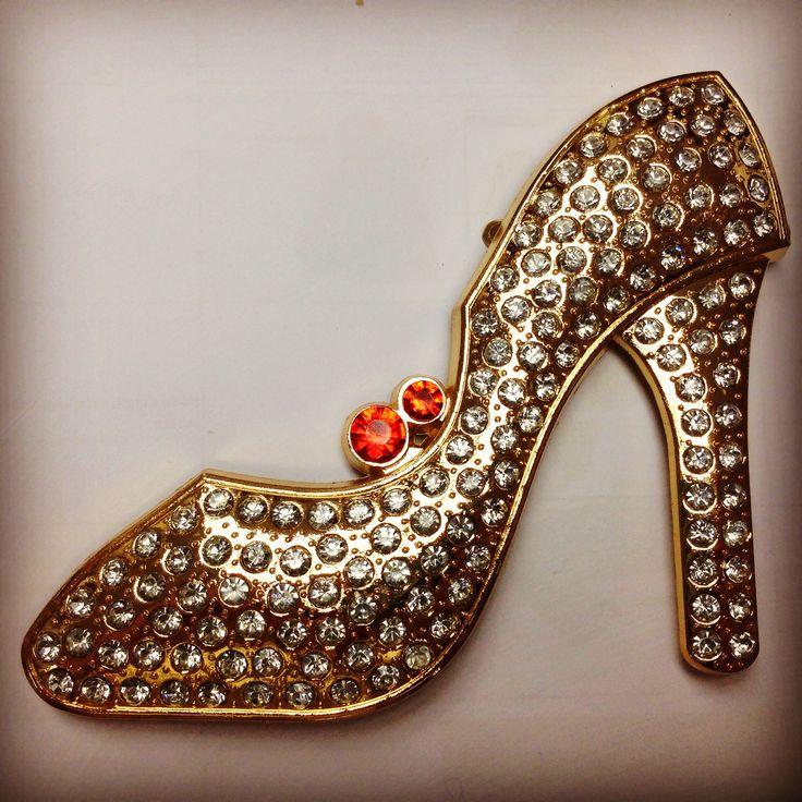 Large High Heel diamonte Charm - https://www.etsy.com/listing/215697724/super-large-light-gold-diamonte-high?