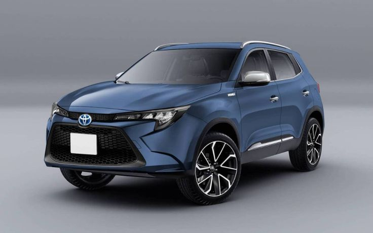 Toyota's new B-SUV is ready for its debut at the Tokyo Motor Show
