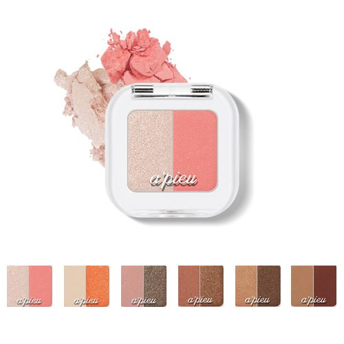 Dual color for daily & point use You can easily enjoy dual color. Mix & Match A good combination of colors. Layering can be done to make more beautiful makeup.