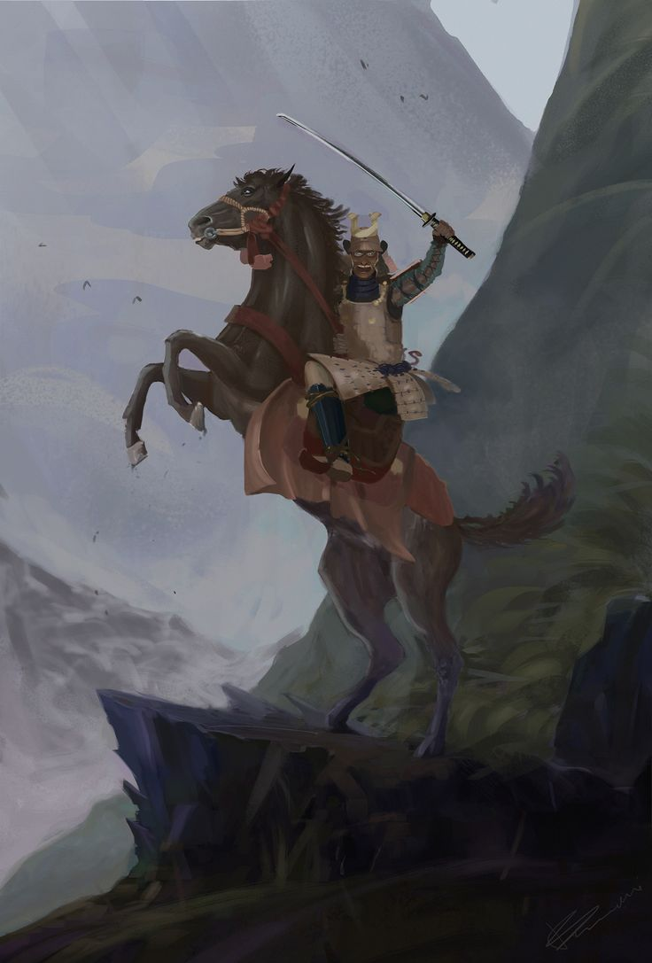 ArtStation - Samurai General, Tomasz Baraniecki