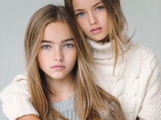 Kristina Pimenova y Anastasia Bezrukova, niñas modelos rusas - Taringa!