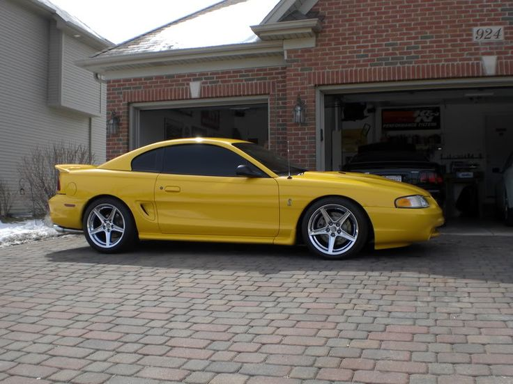 1998 mustang gt chrome yellow Google Search Mustang gt