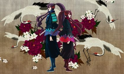 women vocaloid long hair purple hair male genderswitch kamui gakupo gakuko 1500x900 wallpaper_www.wallpapername.com_5.jpg (420×252)