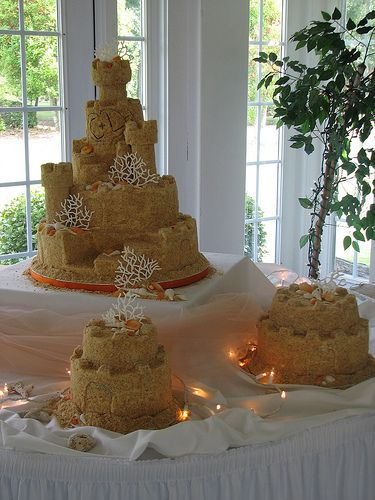 Sand Castle Cake-Full view | creative mom-2-five | Flickr
