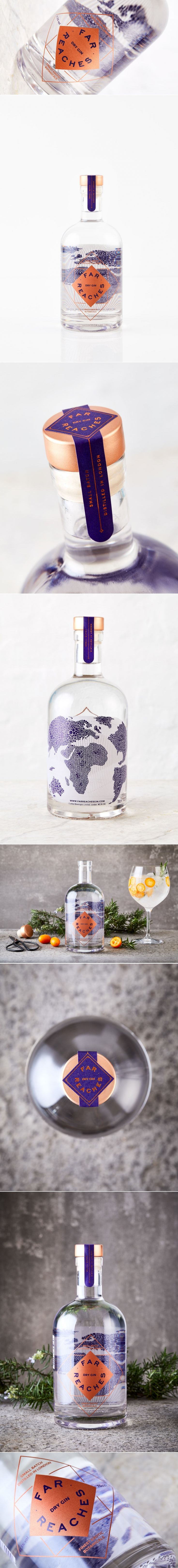 Go Places Near and Far with Far Reaches Gin — The Dieline | Packaging & Branding Design & Innovation News