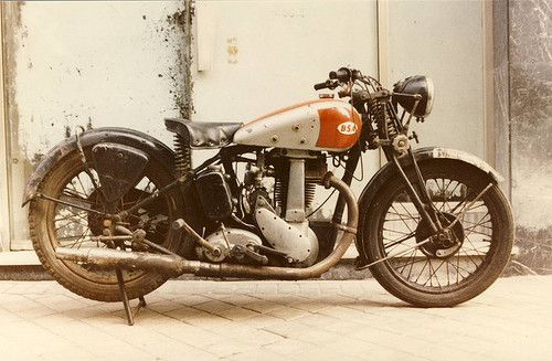 Bobber Inspiration | BSA m22 vintage motorcycle | Bobbers and Custom Motorcycles