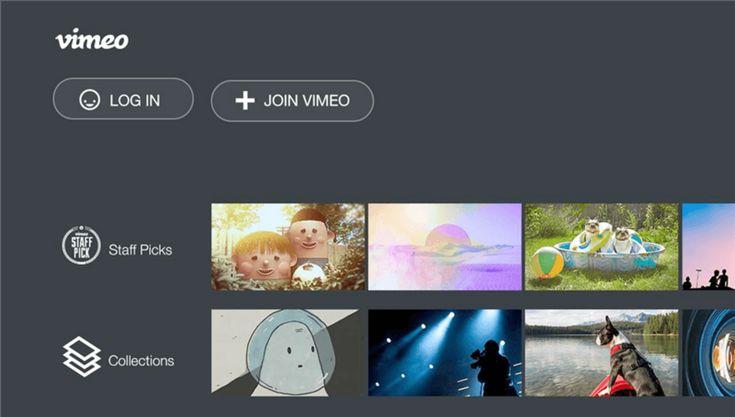 Roku TV App Vimeo1 Tv app, Tvs, Netflix