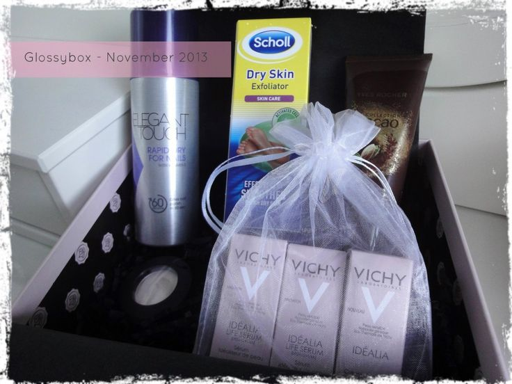 Glossybox November 2013 - review by Beauty Best Friend