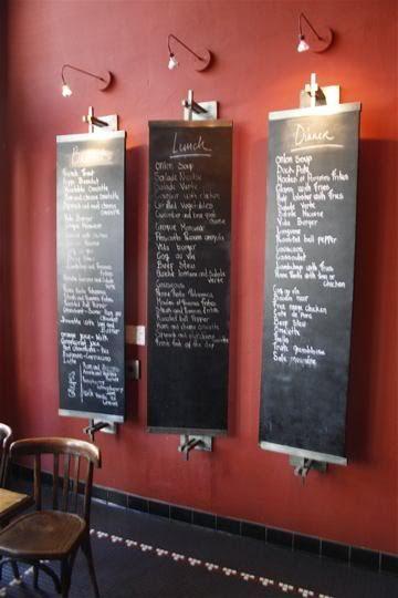 1000 ideas about chalkboard restaurant on pinterest